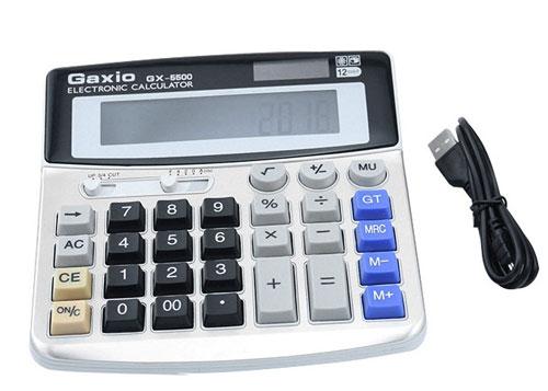計算機(電卓)型ビデオカメラ